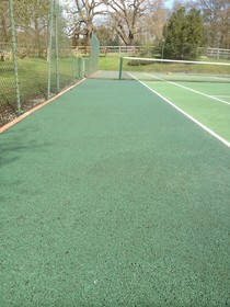 Tennis Court Cleaning image