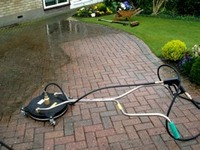 Driveway Cleaning Colchester, Essex & Suffolk.  Patio Cleaning E image
